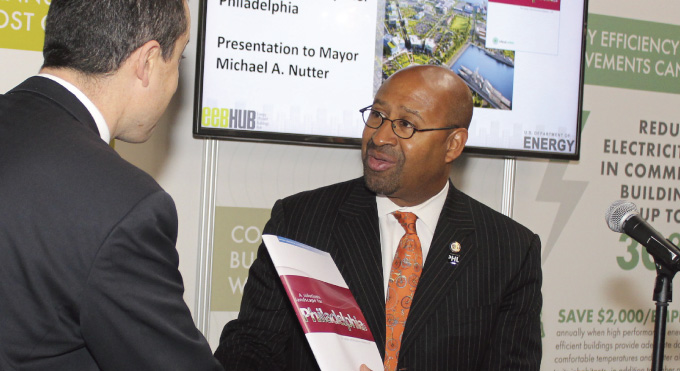 Philadelphia Mayor Michael Nutter was a major driving force behind CBEI's work.